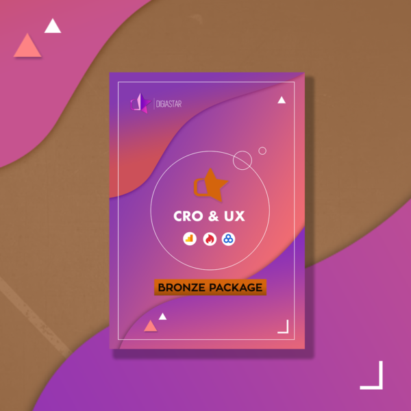 UX UI Analysis Digiastar Conversion Optimization data Bronze package